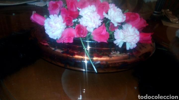 Antigüedades: Florero de color cobre - Foto 2 - 189384455