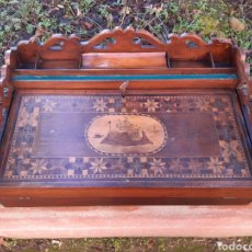 Antigüedades: CAJA DE ESCRITORIO. Lote 189413748