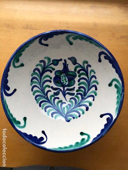 LEBRILLO FAJALAUZA, MUY BIEN CONSERVADO (Antigüedades - Porcelanas y Cerámicas - Fajalauza)