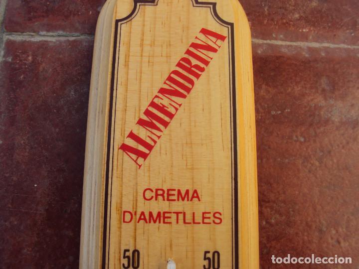 Antigüedades: ANTIGUO TERMOMETRO ALMENDRINA - Foto 2 - 189484666