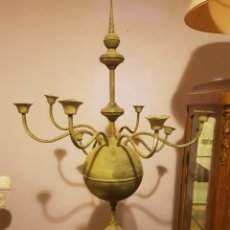 Antigüedades: GRAN CANDELABRO FLORENTINO 8 BRAZOS. Lote 189499415