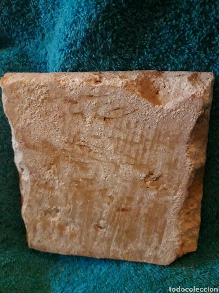 Antigüedades: Magnífico azulejo de Triana siglo XVIII. Serie policroma. - Foto 2 - 189502105