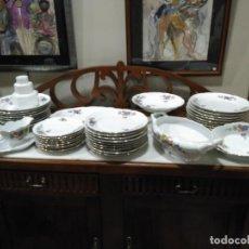 Antigüedades: CONJUNTO DE ANTIGUAS PIEZAS DE VAJILLA. Lote 189512560