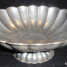 Antigüedades: CENTRO DE MESA, FRUTERO DE METAL, ANTIGUO. Lote 189520223