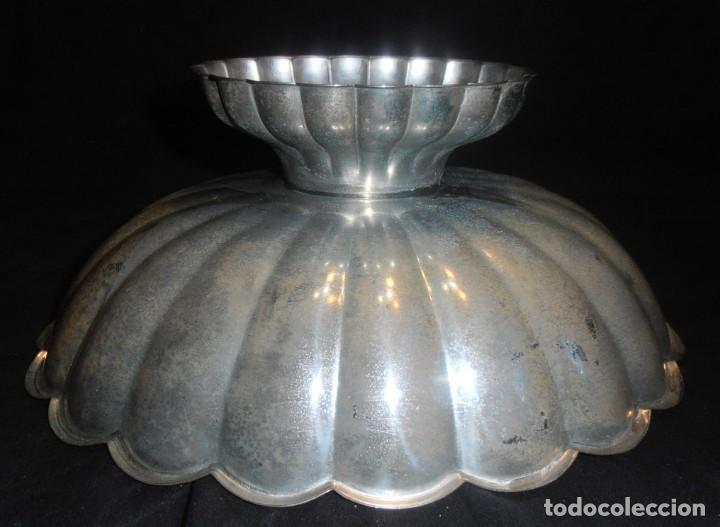 Antigüedades: CENTRO DE MESA, FRUTERO DE METAL, ANTIGUO - Foto 4 - 189520223