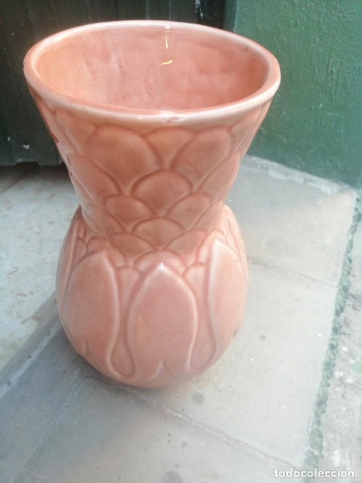 JARRON ANTIGUO MANISES (Antigüedades - Porcelanas y Cerámicas - Manises)