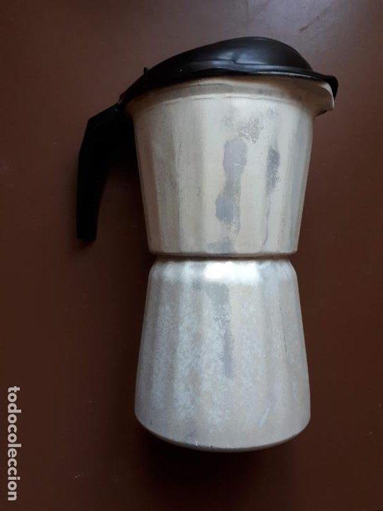 Antigüedades: Cafetera italiana - Aluminio - SEB - Francia - Foto 2 - 189534962