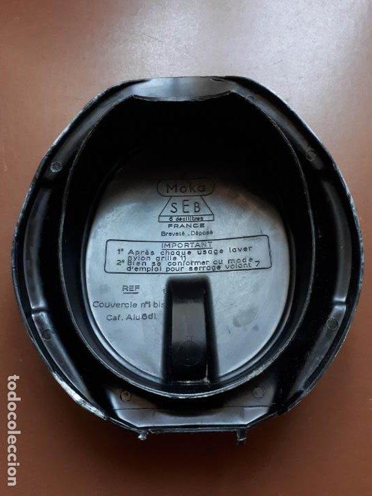 Antigüedades: Cafetera italiana - Aluminio - SEB - Francia - Foto 5 - 189534962