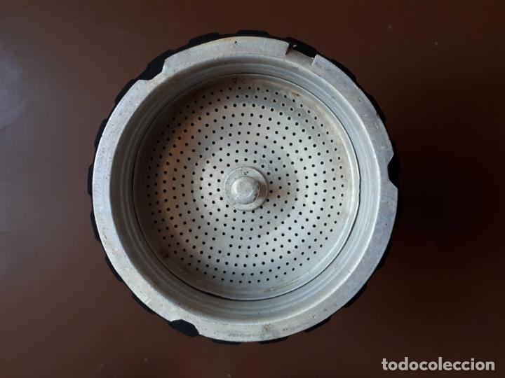 Antigüedades: Cafetera italiana - Aluminio - SEB - Francia - Foto 11 - 189534962