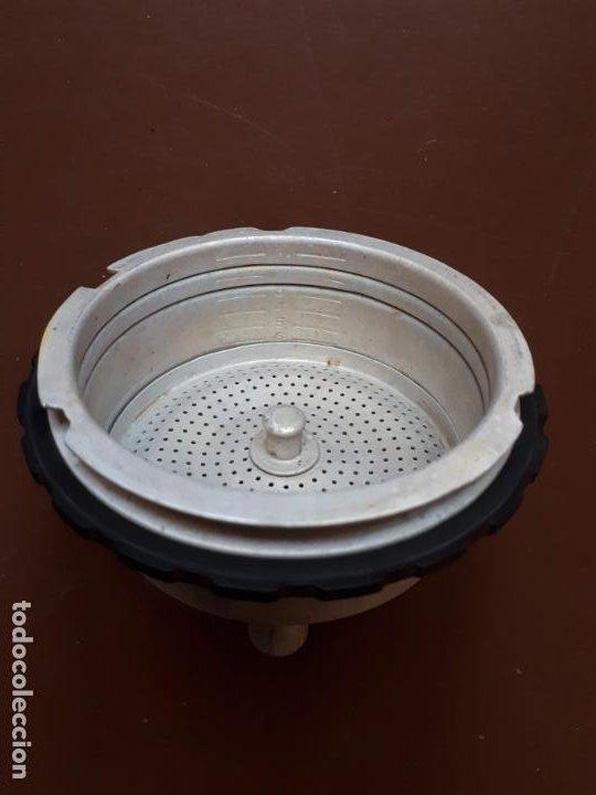 Antigüedades: Cafetera italiana - Aluminio - SEB - Francia - Foto 13 - 189534962