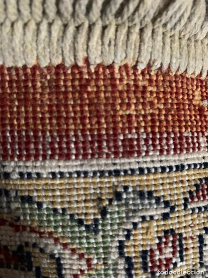 Antigüedades: ANTIGUA ALFOMBRA DE LANA REF-A202 - Foto 5 - 180187977