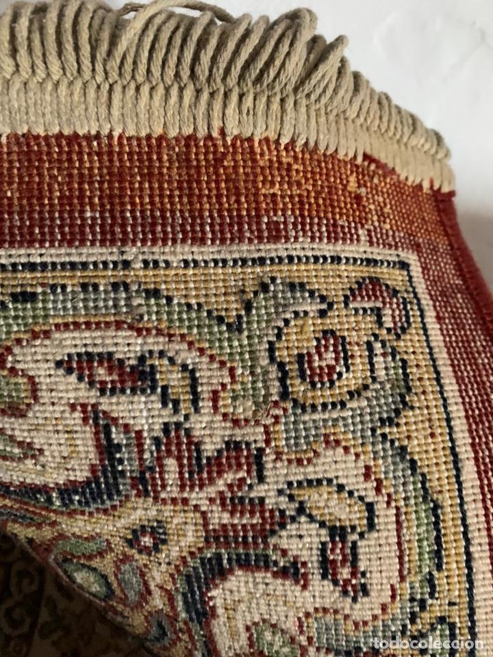 Antigüedades: ANTIGUA ALFOMBRA DE LANA REF-A202 - Foto 6 - 180187977
