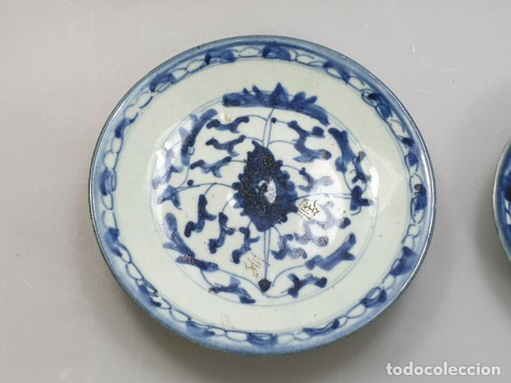 Antigüedades: antiguo plato china chino siglo XIX - Foto 2 - 189558143