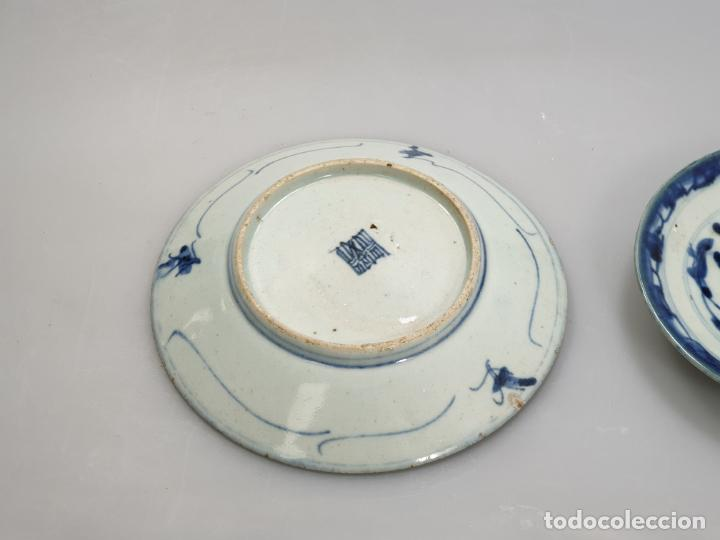 Antigüedades: antiguo plato china chino siglo XIX - Foto 5 - 189558143