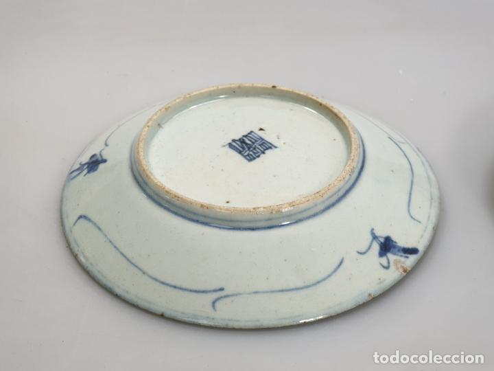 Antigüedades: antiguo plato china chino siglo XIX - Foto 6 - 189558143
