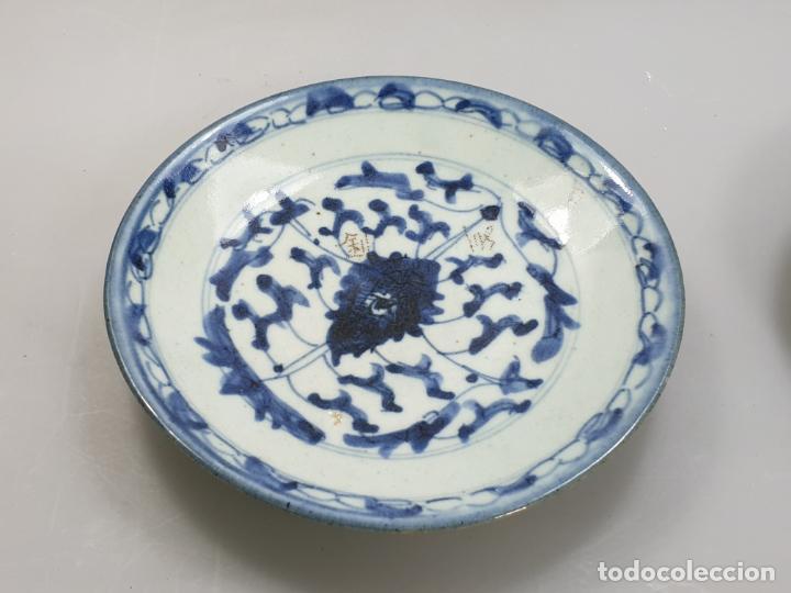 Antigüedades: antiguo plato china chino siglo XIX - Foto 8 - 189558143