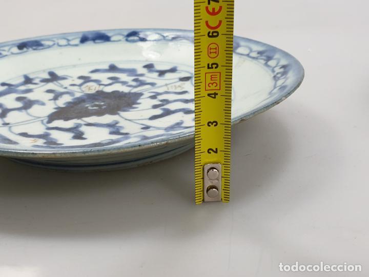 Antigüedades: antiguo plato china chino siglo XIX - Foto 10 - 189558143