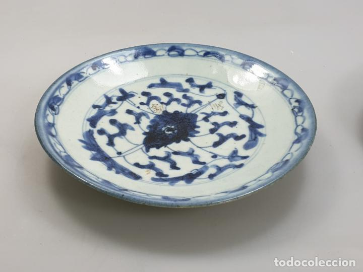 Antigüedades: antiguo plato china chino siglo XIX - Foto 11 - 189558143
