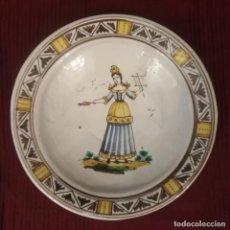 Antigüedades: ANTIGUA FUENTE DE CERÁMICA VALENCIANA. Lote 189571772