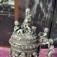 Antigüedades: ANTIGUA JARRA / JARRÓN. ESPECTACULAR PIEZA DE GRAN PESO.. Lote 189581961