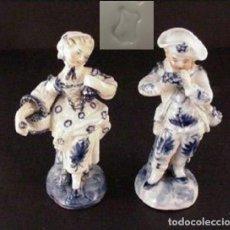 Antiquités: FIGURAS PORCELANA COLECCION. Lote 189585561