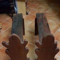 Antiquités: PIE ANTIGUO MORILLO PARA CHIMENEAS O BAÚLES.. Lote 189587020