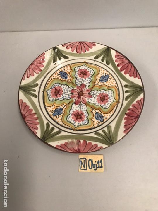 ANTIGUO PLATO DECORATIVO (Antigüedades - Hogar y Decoración - Platos Antiguos)