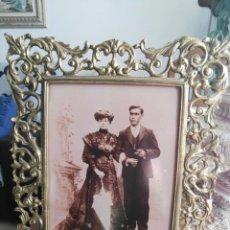 Antigüedades: MARCO BRONCE. Lote 189627802
