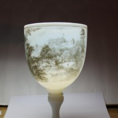 Antigüedades: COPA DE OPALINA INGLESA DE LA CASA RICHARDSON'S. Lote 189637820