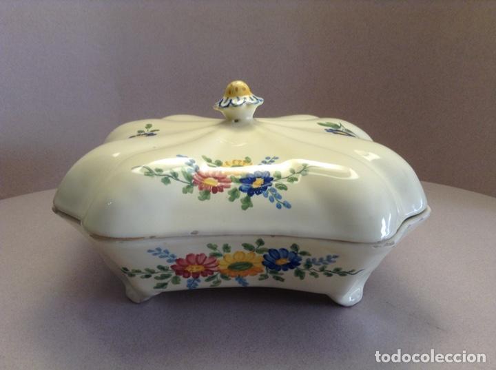 LEGUMBRERA DE ALCORA (PPIOS. S. XX) (Antigüedades - Porcelanas y Cerámicas - Alcora)