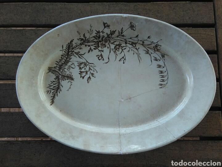 FUENTE CAMPANULA AZNALFARACHE (Antigüedades - Porcelanas y Cerámicas - San Juan de Aznalfarache)
