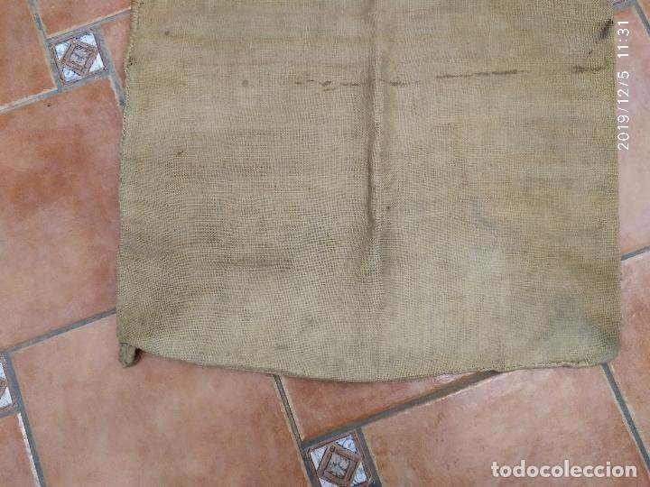 Antigüedades: SACO DE ARPILLERA DE CAFES DEL BRASIL POR TODA ESPAÑA PPS SIGLO XX - Foto 4 - 189700812