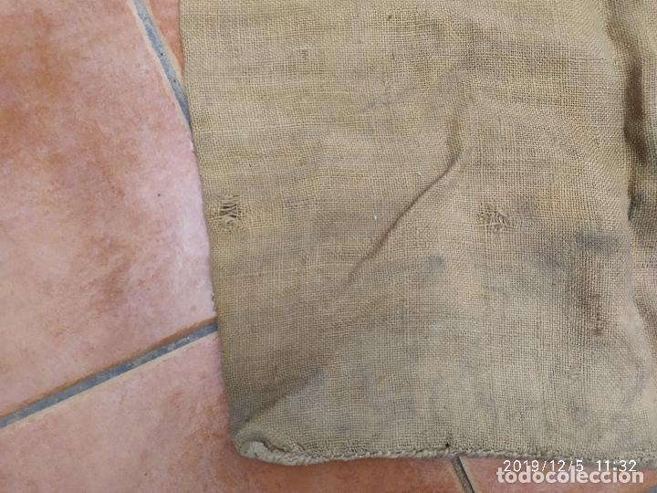 Antigüedades: SACO DE ARPILLERA DE CAFES DEL BRASIL POR TODA ESPAÑA PPS SIGLO XX - Foto 6 - 189700812