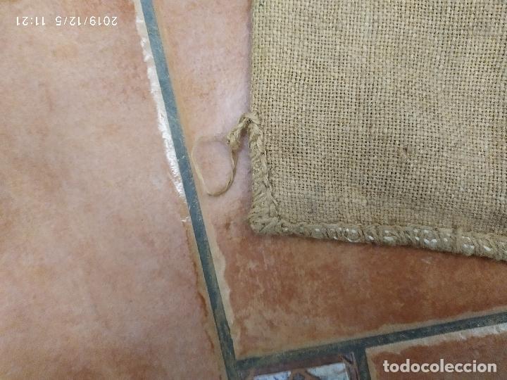 Antigüedades: SACO DE ARPILLERA DE NITROSULFATO AMONICO DE 80 kG 26N SEFANITRO BILBAO PPS SIGLO XX - Foto 5 - 189703203