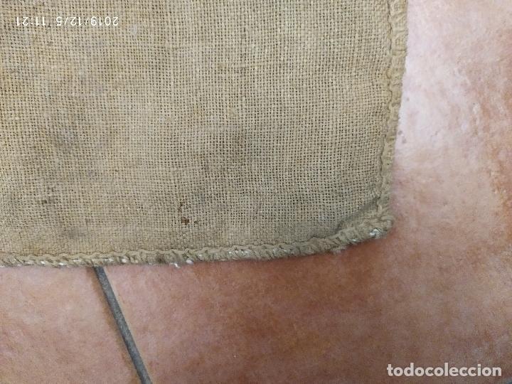 Antigüedades: SACO DE ARPILLERA DE NITROSULFATO AMONICO DE 80 kG 26N SEFANITRO BILBAO PPS SIGLO XX - Foto 6 - 189703203