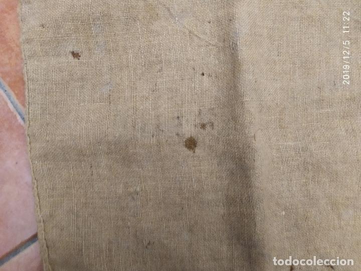 Antigüedades: SACO DE ARPILLERA DE NITROSULFATO AMONICO DE 80 kG 26N SEFANITRO BILBAO PPS SIGLO XX - Foto 8 - 189703203