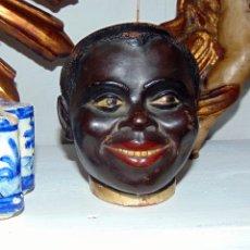 Antiquités: RARA TABAQUERA CERAMICA, BUXO U OLOT, VER FOTOS. W. Lote 189728748