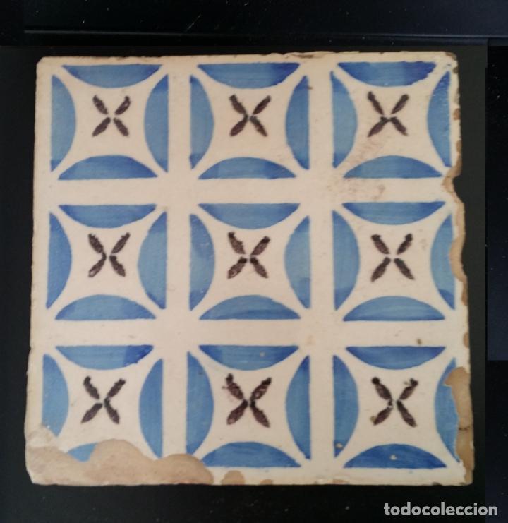 Antigüedades: Azulejo antiguo, baldosa - Foto 2 - 189735186
