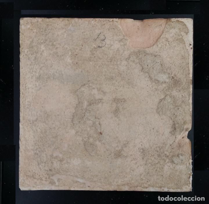 Antigüedades: Azulejo antiguo, baldosa - Foto 3 - 189735186