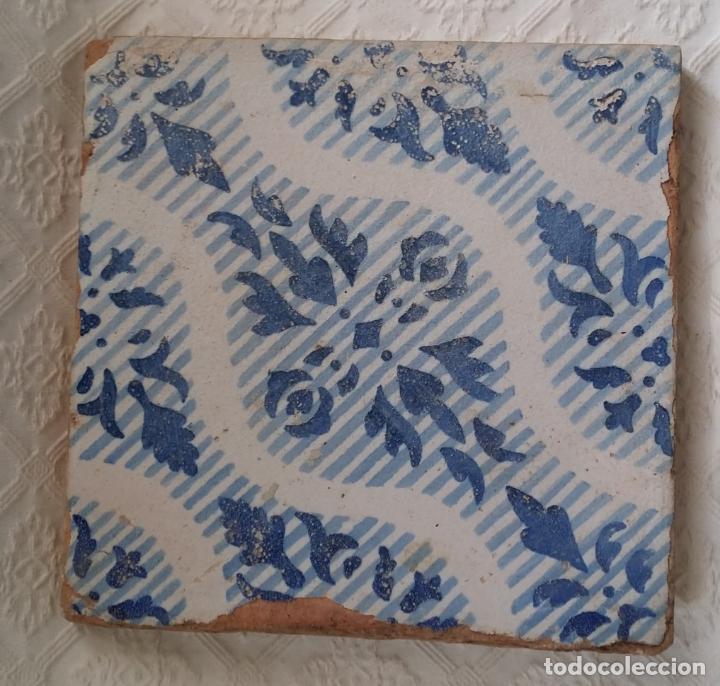 Antigüedades: Azulejo antiguo, baldosa - Foto 2 - 189746975