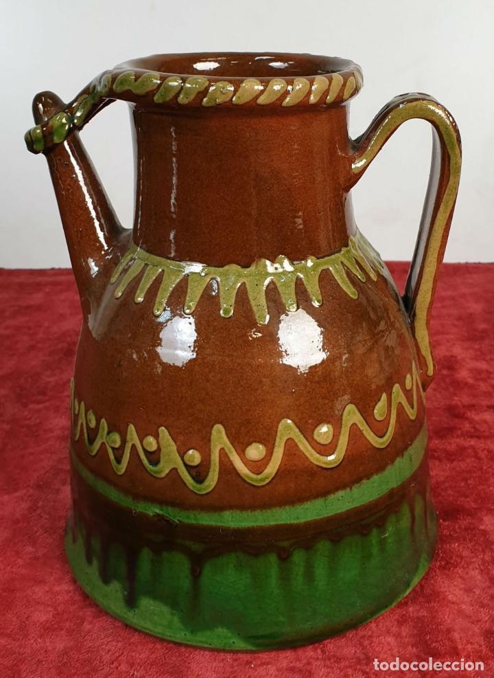 Antigüedades: COLECCION DE 11 PIEZAS DE CERÁMICA CATALANA. ESMALTADA. VILA CLARA. SIGLO XX. - Foto 34 - 189750821
