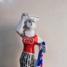 Antigüedades: DE COLECCION FIGURA BOTIJO EN PORCELANA SARGADELOS MARIA DAS BATALLAS. Lote 189752011