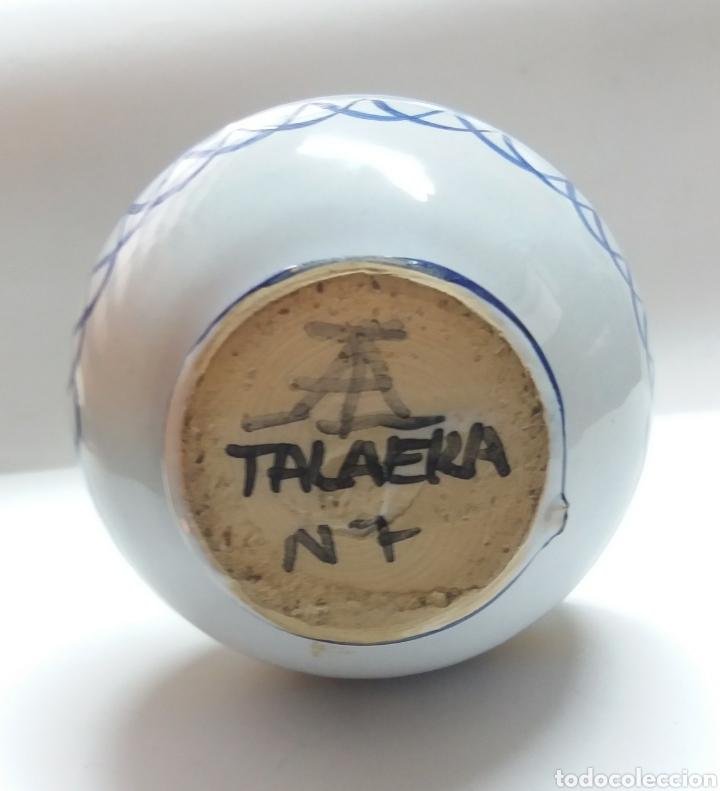Antigüedades: JARRA CERAMICA TALAVERA 15CM - Foto 5 - 189811211