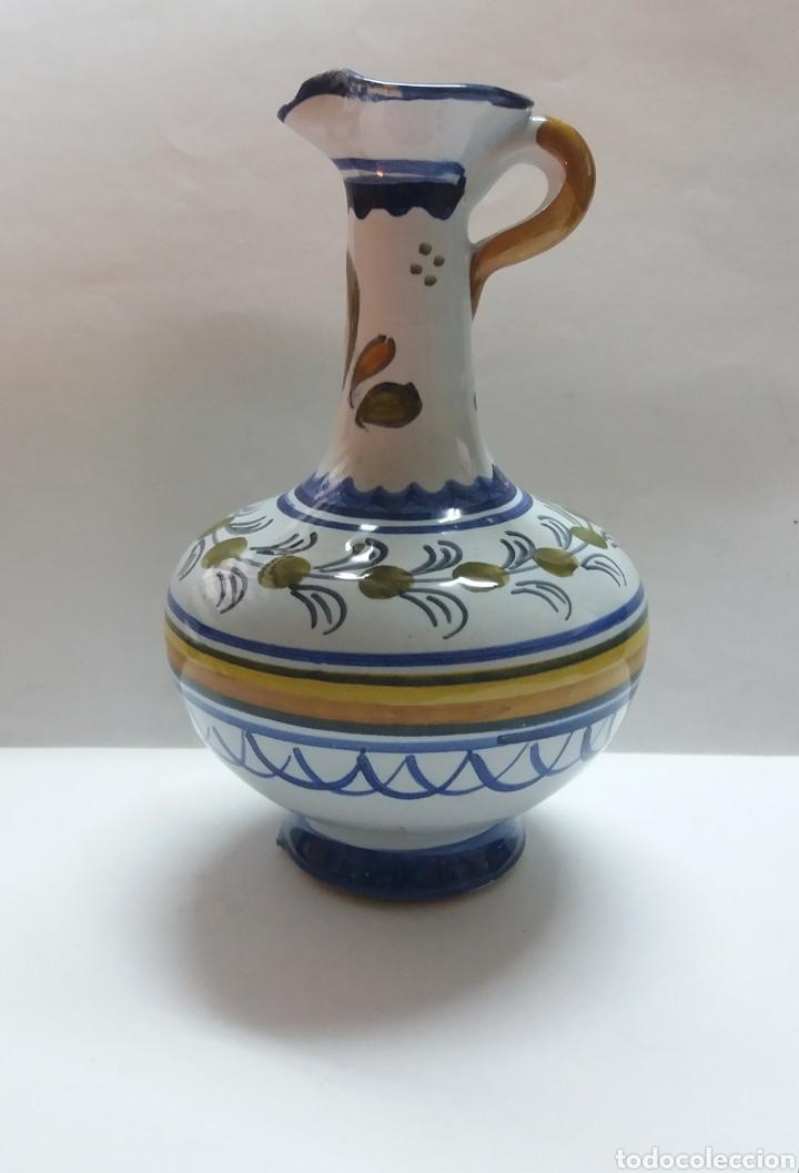 JARRA CERAMICA TALAVERA 15CM (Antigüedades - Porcelanas y Cerámicas - Talavera)