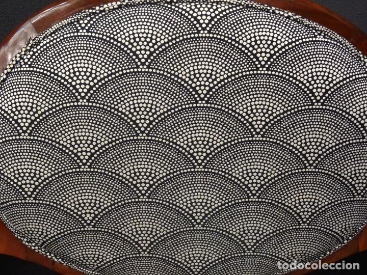 Antigüedades: Canapé Luis XV S.XIXen madera decaoba y recién tapizado por Cole&Son - Foto 18 - 188052595
