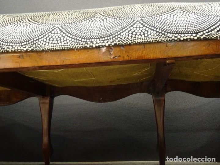 Antigüedades: Canapé Luis XV S.XIXen madera decaoba y recién tapizado por Cole&Son - Foto 33 - 188052595