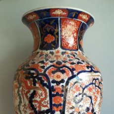 Antigüedades: JARRON PORCELANA IMARI. Lote 189821195