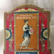 Antigüedades: CAJA ANTIGUA DE POLVOS. Lote 189893396