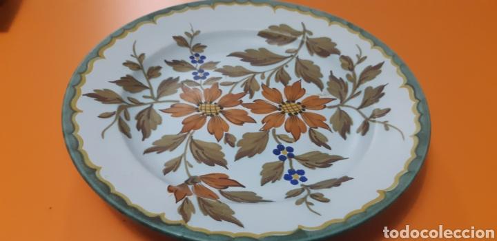 PLATO CERAMICA GOUDA AÑOS 70 (Antigüedades - Porcelana y Cerámica - Holandesa - Delft)