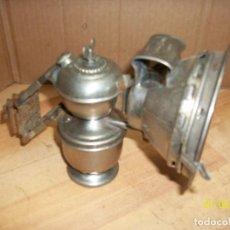 Antigüedades: ANTIGUO FAROL DE BICICLETA ALEMAN A CARBURO -SCHARLACH LAMPE. Lote 190012470